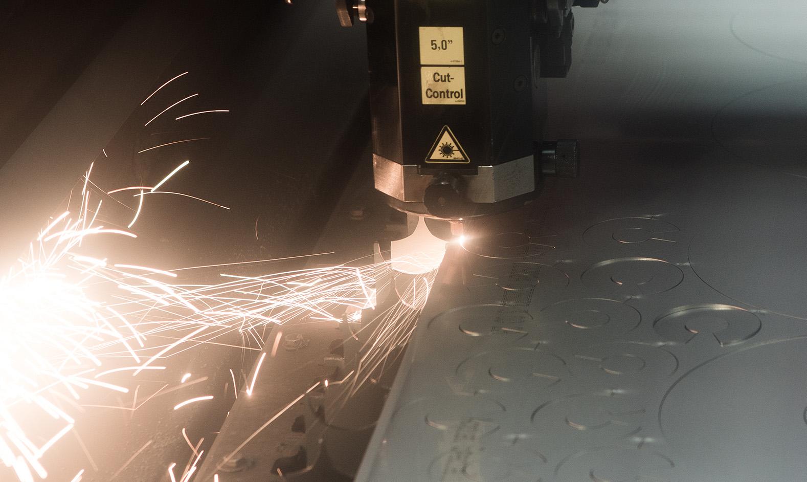 Schneckenflügel Laser Fertigung
